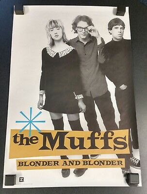 The Muffs Blonder And Blonder Promotional Poster