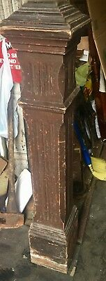 Antique Staircase Newel Post Architectural Gem