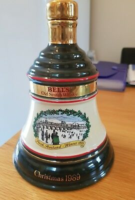 Vintage Wade Bells Whisky Christmas Green Bell1989