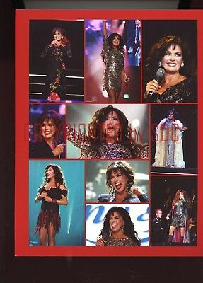 1, 8x10 photo - Marie Osmond (collage - red border) - #2