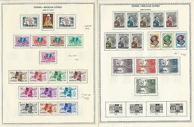 Congo Collection 1960-1965 on Minkus Pages, Mint Sets, 8 Pages