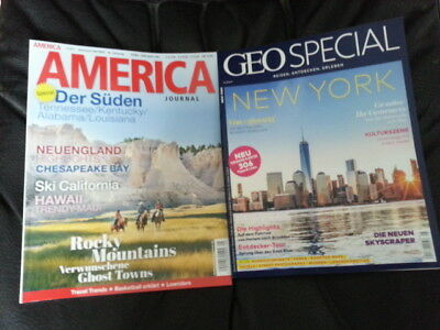 GEO Special Nr.5/2017 NEW YORK + AMERICA Journal Nr.5/2017 Der Süden