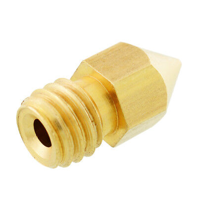 0.4mm 3D Printer Extruder Print Head for Makerbot MK8 RepRap Brass common use