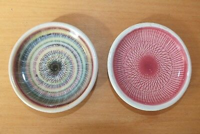 2 Rye Pottery pin dishes