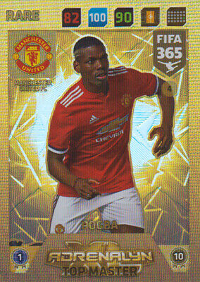 Fifa 365 Cards 2018 - 4 - Top Master - Paul Pogba - Rare