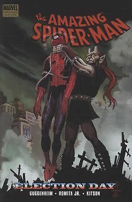 The Amazing Spider-Man: Election Day by Marc Guggenheim (2009, Hardcover) Marvel