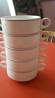 royal doulton steelite hotelware 5 soup dishes