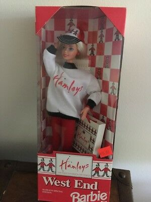 NRFB West End Barbie (Hamleys Of London) Great Britain