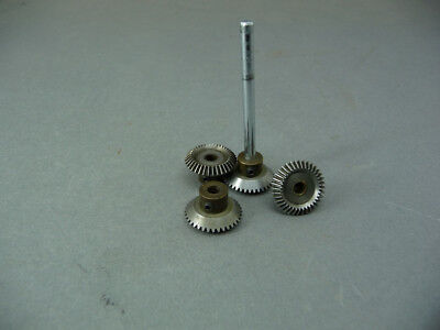 Meccano compatable Bevel Grears 4 off.