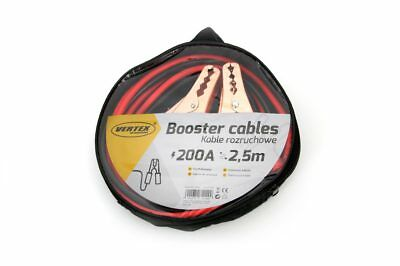 Vertex JUMP LEADS JUMP LEAD CABLE 200A BATTERY LEAD 2,5m