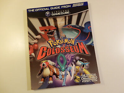 "Original Nintendo GameCube Spieleberater ""Pokémon Colosseum"""