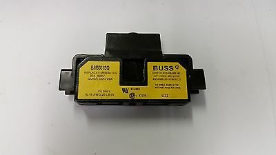 BUSSMANN SAMI 600v 30a FUSE HOLDERS BM6031SQ WITH 6 AMP FUSE