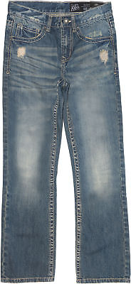 Axel Big Boys Distressed Boot Cut Jeans