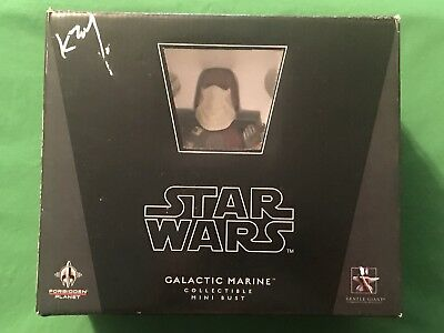 Gentle Giant Forbidden Planet Star Wars GALACTIC MARINE Collectible Mini Bust