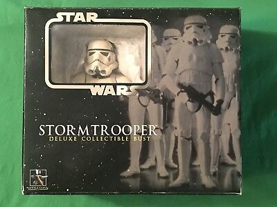 Gentle Giant Star Wars Imperial STORMTROOPER Deluxe Collectible Bust Statue
