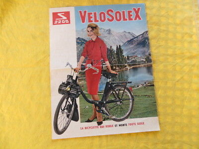 VéloSoleX - S 2200 - document publicitaire - 1962