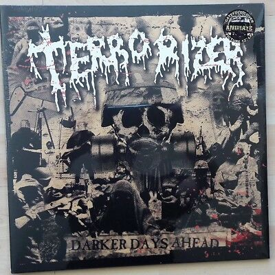 Terrorizer - Darker Days Ahead Picture Disc Lp still sealed (Slayer,Napalm Death