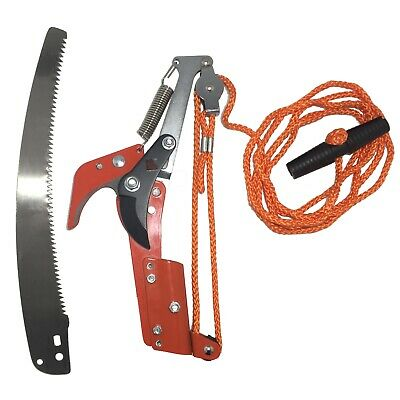 raupenschere Pruning Shears with 30cm Saw Blade 2 in 1 Tree Saw Clippers