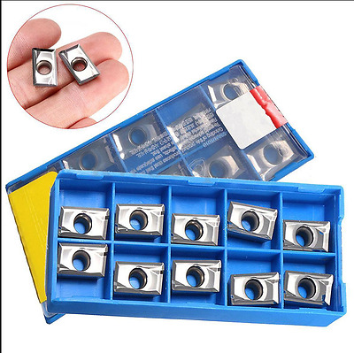 50pcs APKT1604PDFR-MA3 H01 Milling Carbide Inserts Blades For Aluminum Copper