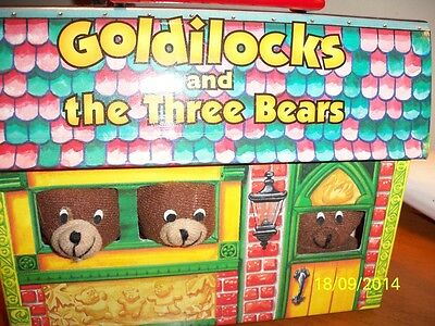 1995 book & Toy Goldilocks and the Three Bears Read and Play/Turgeon Illustrated