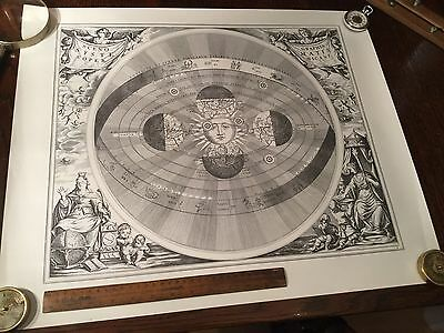 Antique Vintage Astronomy Astrology Map Chart Lithograph Print Engraving 5 of 6