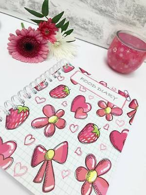 FOOD DIARY Diet Journal SLIMMING WORLD Compatible Weight Tracker Diary C -Angry