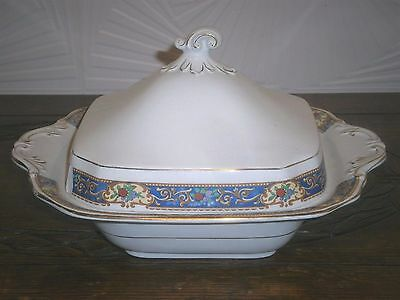Vintage China Serving Dish / Tureen & Lid