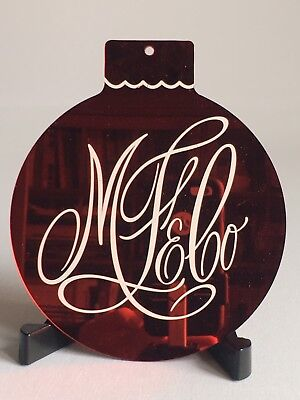 RARE Iconic Marshall Fields Holiday Ornament Memorabilia From Interior Store