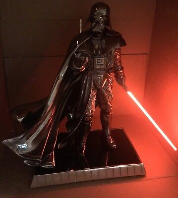Gentle Giant Star Wars Blister Event Tokyo CHROME EDITION DARTH VADER Statue
