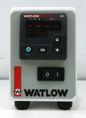 Watlow Winona SNGL-7JRG-1200 Temperature Control Console with SD6C-HCAA-AARG