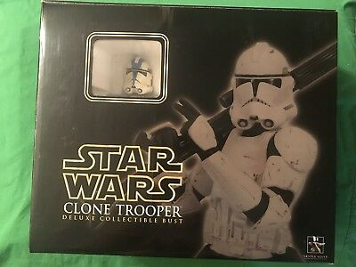 Gentle Giant Star Wars ROTS Deluxe 501st SPECIAL OPS TROOPER Collectible Bust