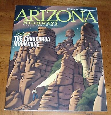 September 2017 Arizona Highways - Special Collector's Issue-Chiricahua Mountains