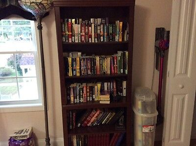 Bookcase with books included