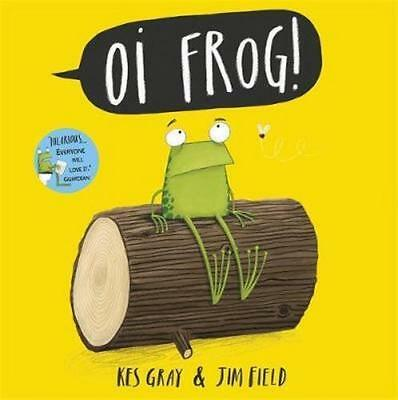 NEW Oi Frog! By Kes Gray Paperback Free Shipping