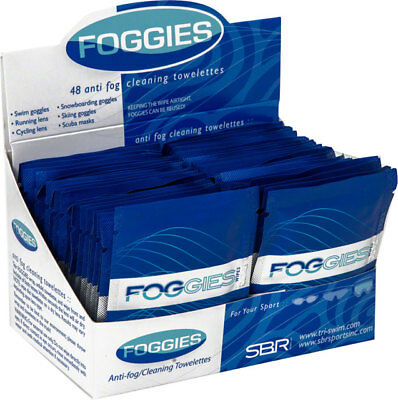 Foggies Anti-Fog Cleaning Towelettes Case of 48