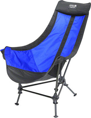 Eagles Nest Outfitters Lounger DL Camp Chair Royal/Charcoal