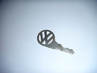 Old Vintage Volkswagen Car Key 1950s-70s cut out VW