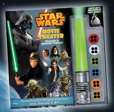 NEW Star Wars Movie Theatre - Storybook and Lightsaber Projector Novelty Book