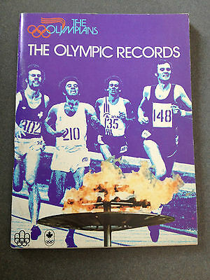 The Olympians, The Olympic Records  Published 1976 , Molson Brewries