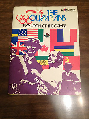 The Olympians, Evolution Of The Games Published 1974 , Molson Brewries, Montreal