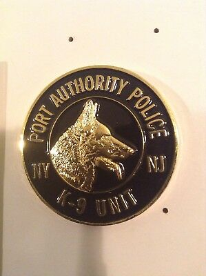 K9 PAPD Port Authority NY NJ Police Challenge Coin Not NYPD