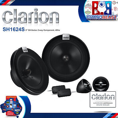 """Clarion Clarion Sh1624s 6"""" (16cm) 400w Component Speaker System"""