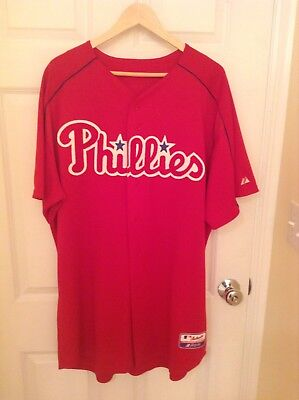 Phillies MARLON BYRD Game Used Worn Signed Jersey