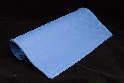 RUBBER BATH MAT - Slip Resistant Surface & Suction Cups - For Babies & Toddlers