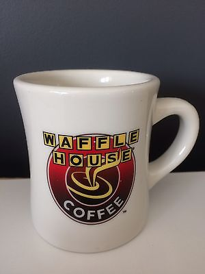 Waffle House Coffee Mug Thick Diner Style Cup Logo Advertising