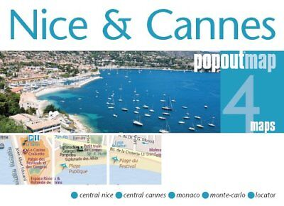 Nice & Cannes PopOut Map by PopOut Maps 9781845879266 (Sheet map, folded, 2012)