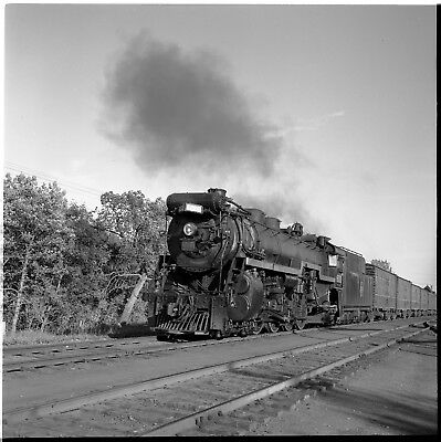 "2 1/4"" square B&W Negative: Canadian National 6000  Dauphin, MB  9-7-59"