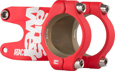 Answer ATAC AME 31.8 Stem 40mm +/- 0 Degree Red