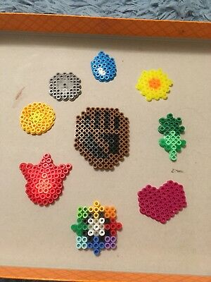 Pokemon Kanto Gym Badges (Perler Bead Sprite Pixel Art)