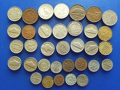 Job lot bundle of Mixed Foreign - world Coins